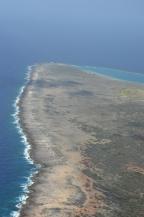 Raar eigenlijk, 10% van het eiland (Oostpunt) is helemaal leeg. Afgezien van natuur en een enkele weg.