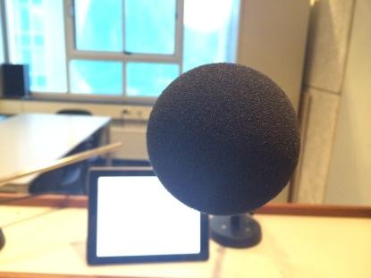 Nog even nieuwe voice overs opnemen. Duidelijke feedback is fijn en jeej nog even monteren.