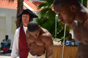 Naspelen slavernij bij Kura Hulanda