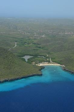 Het westelijke deel van Curaçao