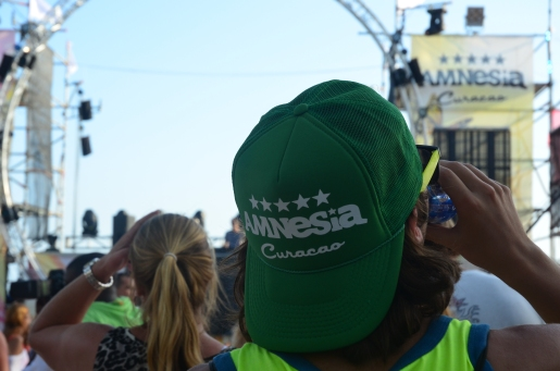 Allemaal Nederlandse stagiaires op het strandfestival Amnesia en dit feest is geen uitzondering.