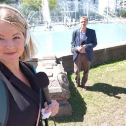 Tessa Hofland en Arie vd Schoor (Stadsarchief)